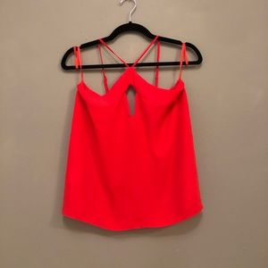 BCBG Max Azria Bright Red Tank